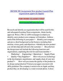 My first MagazineISCOM 305 TUTORIALS Exciting Results - iscom305tutor