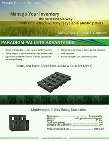 Paradigm Plastic Pallets