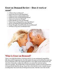 Erect On Demand PDF / Formula