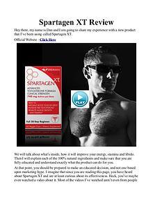 Spartagen XT UK / Price Review