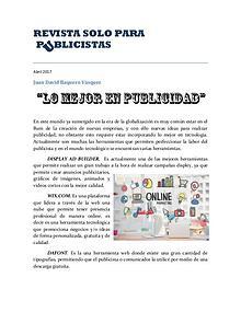 REVISTA SOLO PARA PUBLICISTAS