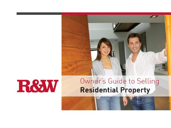 Owner's Guide to Selling Residential Property Selling Guide
