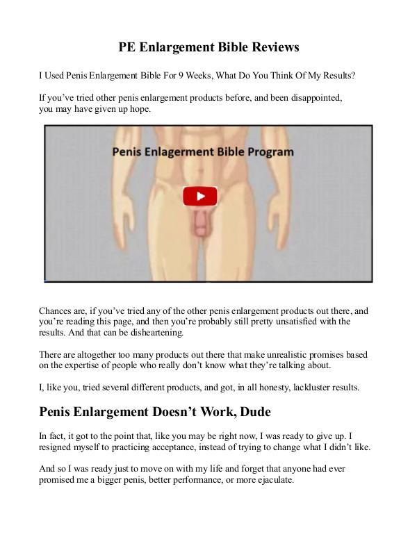 PE Bible PDF / eBook John Collin Reviews & Free Download?