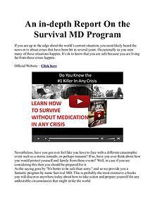 Survival MD PDF / Book Free Download