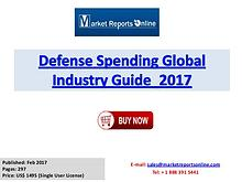 2017 Global Defense Spending Market Growth Analysis and 2021 Forecast