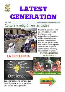 Latest Generation