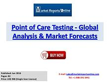 Point of Care Testing Market worth US$ 38 Billion by 2022