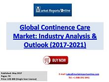 Continence Care Market Research Report and Trends Forecasts 2021