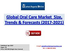 Oral Care Market Research Report and Trends Forecasts 2017 to 2021