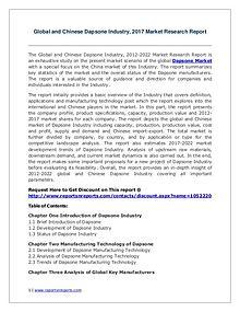 Dapsone Market Growth Analysis and Forecasts To 2022