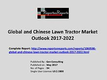 Lawn Tractor Market Growth Analysis and Forecasts To 2022