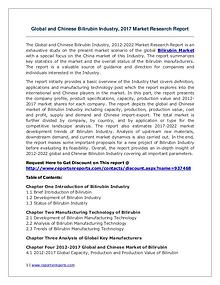 Bilirubin Market Growth Analysis and Forecasts To 2022