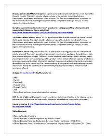 Pancetta Market Research Report 2017