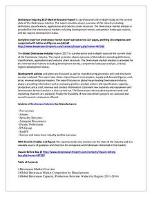 Global Dextranase Market Research Report 2017