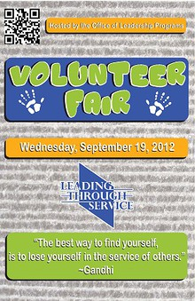 LTU Annual Volunteer Fair 2012
