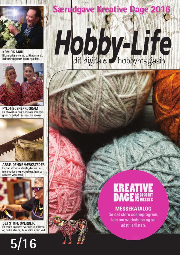 Hobby-Life Hobby-Life, Kreative Dage 2016