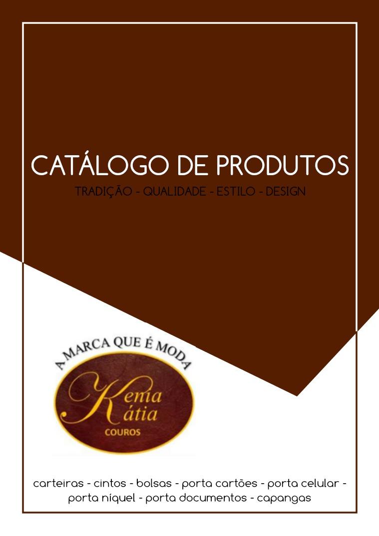 Catálogo Kênia e Kátia Couros Catálogo Kênia e Kátia Couros