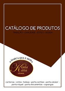 Catálogo Kênia e Kátia Couros