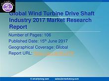 Global Wind Turbine Drive Shaft Market Research Report 2017
