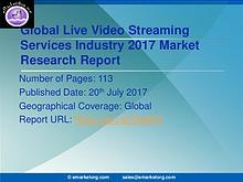 Global Live Video Streaming Services Market Research Report 2017