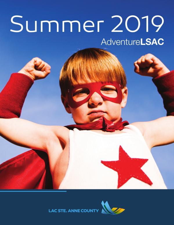 Lac Ste. Anne County Summer Fun Book Summer Fun 2019 Book