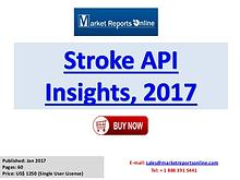 Stroke API Manufacturing Global Industry Insights Report 2017