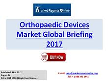 Orthopaedic Devices Manufactures, Industry Analysis 2017