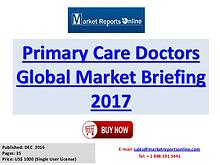Primary Care Doctors Global Industry Insights Report 2017
