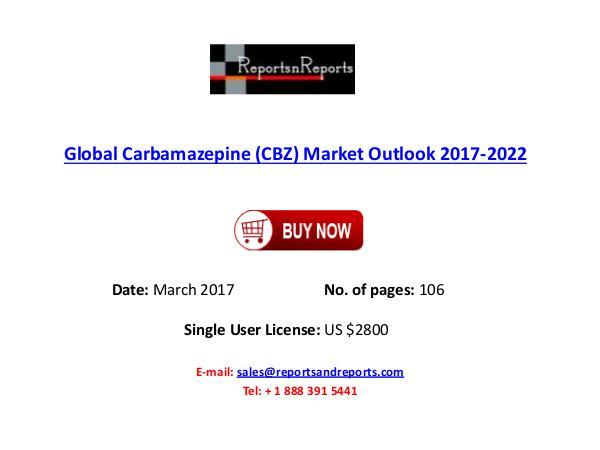 Carbamazepine (CBZ) Industry Forecast 2017-2022 Global Carbamazepine (CBZ) Market Outlook 2017-202