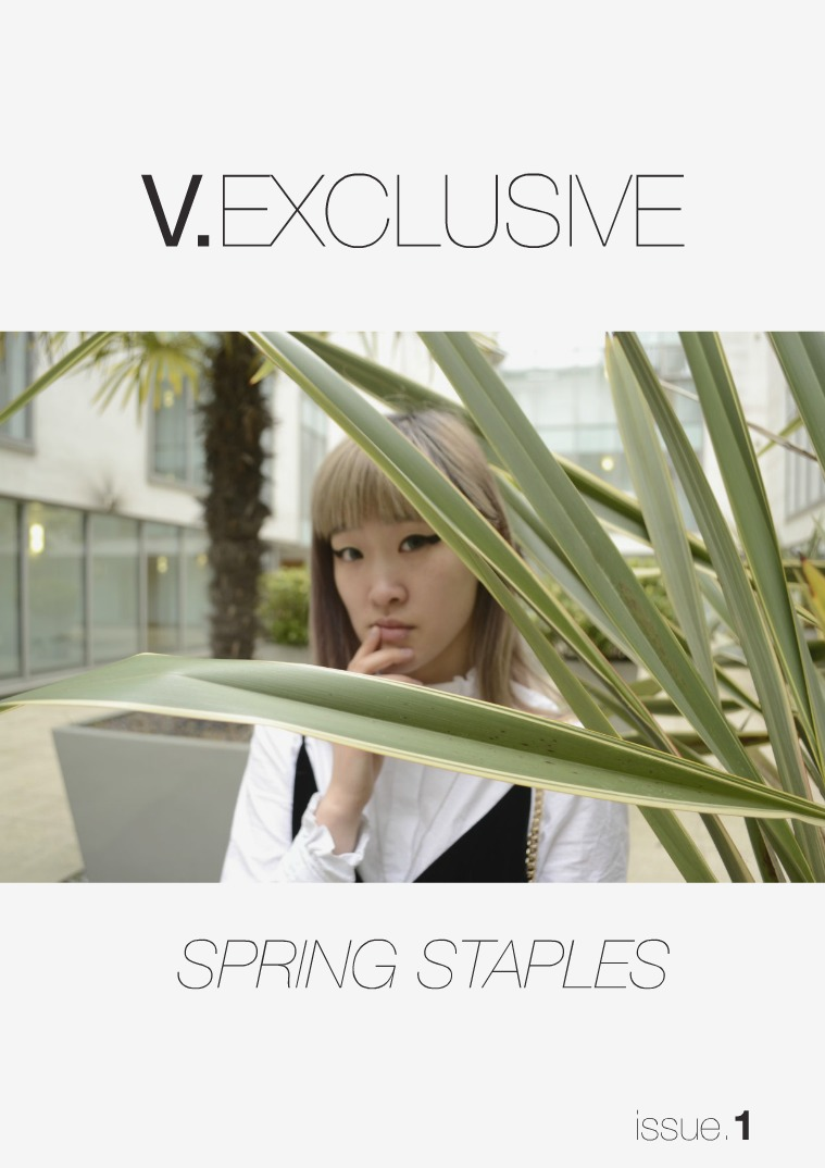V.EXCLUSIVE - SPRING STAPLES V.Exclusive: Spring Staples