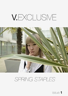 V.EXCLUSIVE - SPRING STAPLES