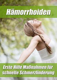3 Schritt Methode Zur Hämorrhoidenheilung PDF / Buch