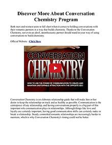 Conversation Chemistry PDF / eBook