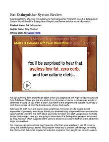 Fat Extinguisher PDF / Diet