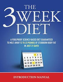 The 3 Week Diet PDF / System Free Download By Brian Flatt