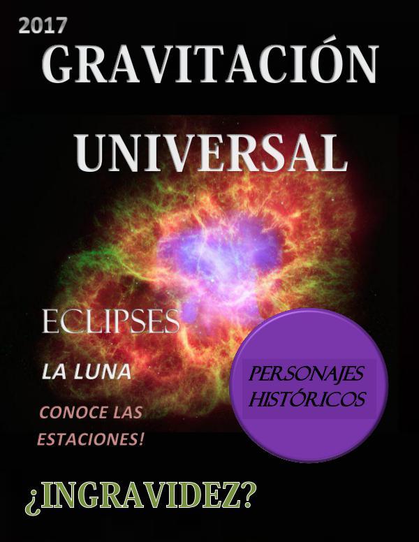 GRAVITACION UNIVERSAL GRAVITACION UNIVERSAL