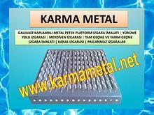 KARMA METAL galvanizli metal platform petek izgaralari metal izgara