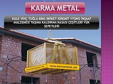 KARMA METAL yuk tasima kasasi sepeti cesitleri ekipmanlari imalati