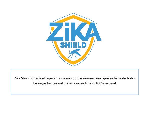 ZIKA SHIELD ZIKASHIELD