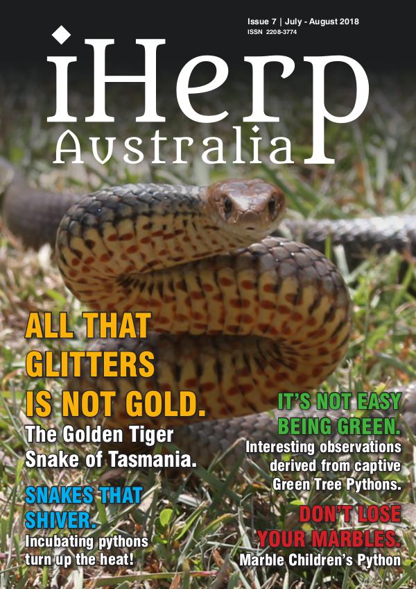 iHerp Australia Issue 7