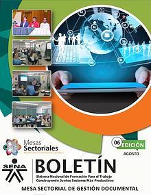 Boletín Numero 6 - Mesa Sectorial de Gestión Documental
