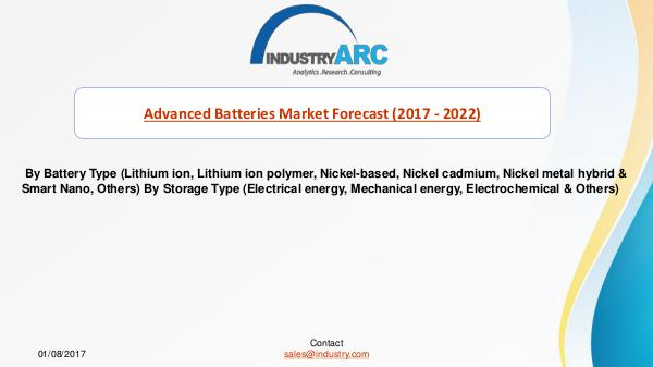 Advanced Batteries Market Predicts North America to Retain Its Leade Switching Power Supply Market%0D%0A