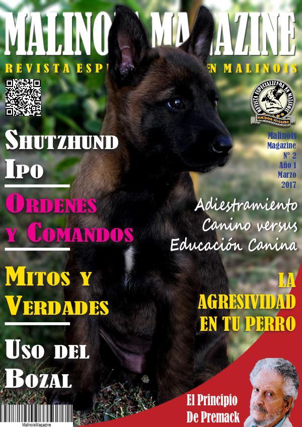 MALINOIS MAGAZINE Malinois Magazine N° 2 MARZO 2017