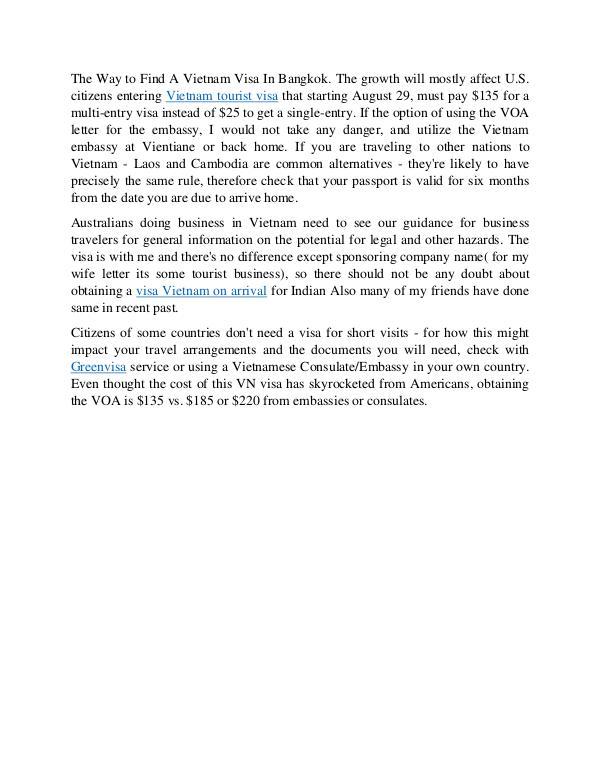 Business Visa Vietnam  - Requirements & How to get one? VOA - How to apply Visa for Vietnam Online?