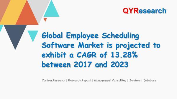 QYR Market Research Global Employee Scheduling Software Market