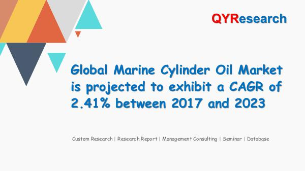 QYR Market Research Global Marine Cylinder Oil Market Research