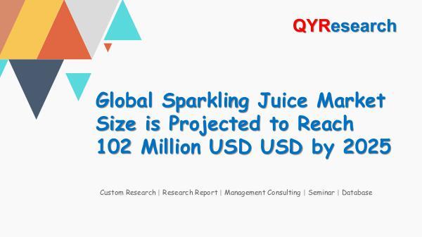 Global Sparkling Juice Market Research