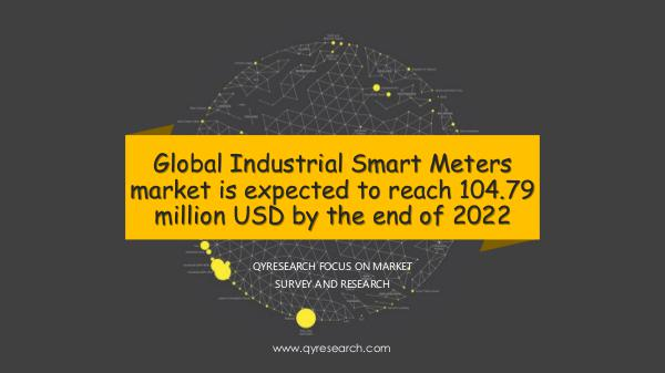 QYR Market Research Global Industrial Smart Meters market research
