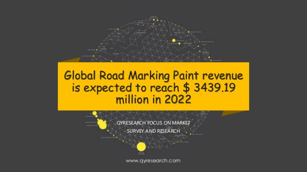 Global Road Marking Paint market research