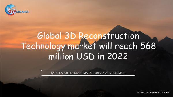 Global 3D Reconstruction Technology market